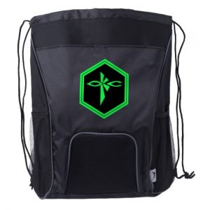 EnlightenOKC Drawstring Backpack