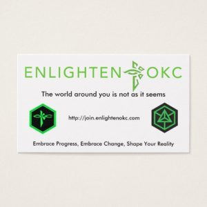 EnlightenOKC Recruitment Cards